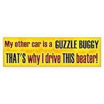 No Guzzle Buggy Bumper Sticker (50 pk)