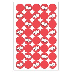 Kitty Cat Polka Dots Posters