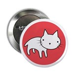 "Kitty Cat Polka Dots 2.25"" Button (100 pack)"