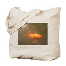 Wild World Two Koi Tote Bag
