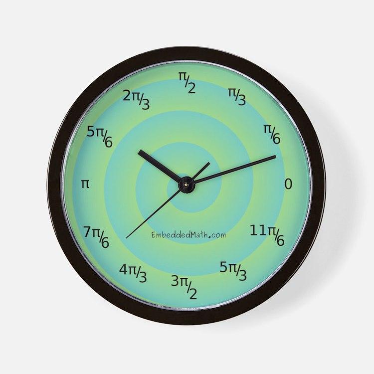 Radians Wall Clock