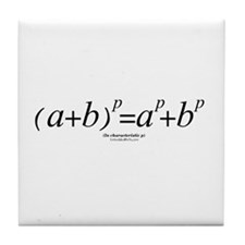 Binomial Law - Tile Coaster