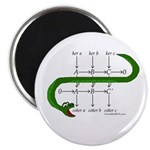 "The Snake Lemma - 2.25"" Magnet (10 pack)"