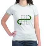 The Snake Lemma - Jr. Ringer T-Shirt