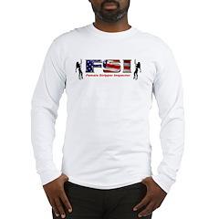FSI Female Stripper Inspector Long Sleeve T-Shirt