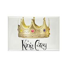King Corey Rectangle Magnet
