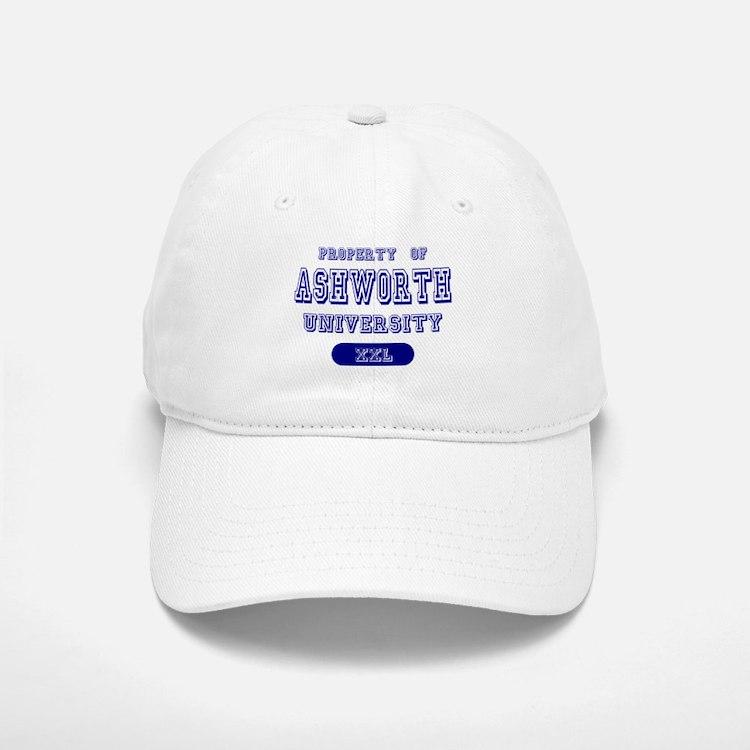 Property of Ashworth University Baseball Baseball Cap