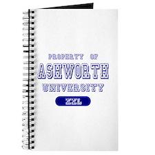 Property of Ashworth University Journal