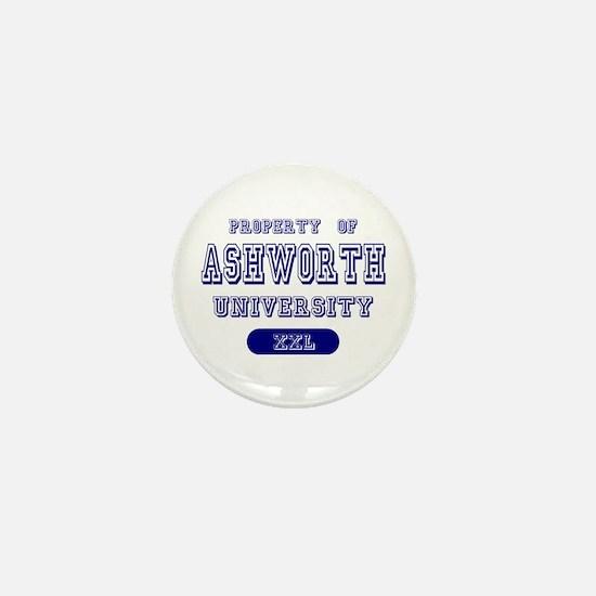 Property of Ashworth University Mini Button