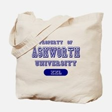 Property of Ashworth University Tote Bag