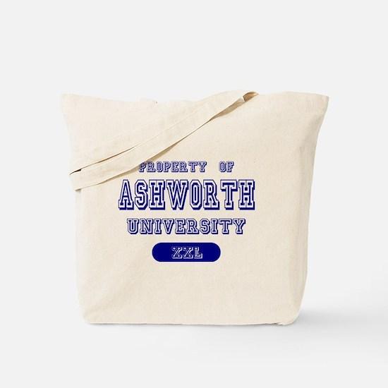 Property of Ashworth University Tote Bag