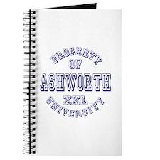 Property of Ashworth University XXL Journal