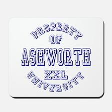 Property of Ashworth University XXL Mousepad