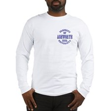 Property of Ashworth University XXL Long Sleeve T-