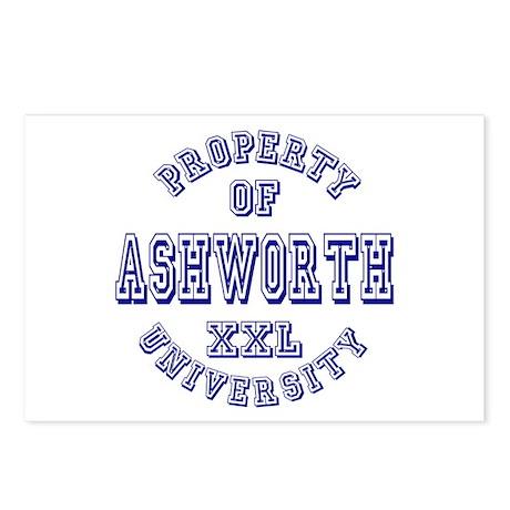 Property of Ashworth University XXL Postcards (Pac