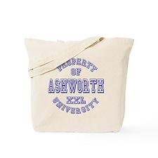 Property of Ashworth University XXL Tote Bag