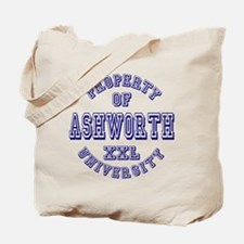 Property of Ashworth University XXL Tote Bag
