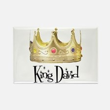 King David Rectangle Magnet