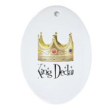 King Declan Oval Ornament