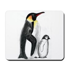Penguin and Chick Mousepad