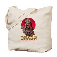 MAN OF THE WILDERNESS Tote Bag