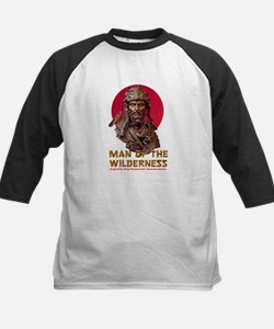 MAN OF THE WILDERNESS Kids Baseball Jersey