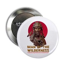 """MAN OF THE WILDERNESS 2.25"""" Button"""