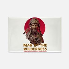 MAN OF THE WILDERNESS Rectangle Magnet