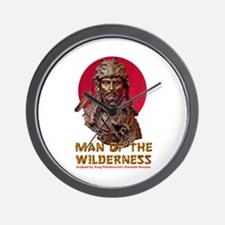 MAN OF THE WILDERNESS Wall Clock