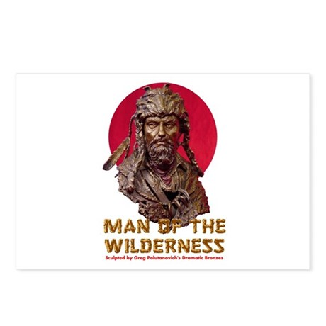 MAN OF THE WILDERNESS Postcards (Package of 8)