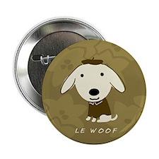 "Le Woof 2.25"" Button"