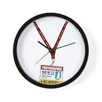 WTD: Credentials Wall Clock