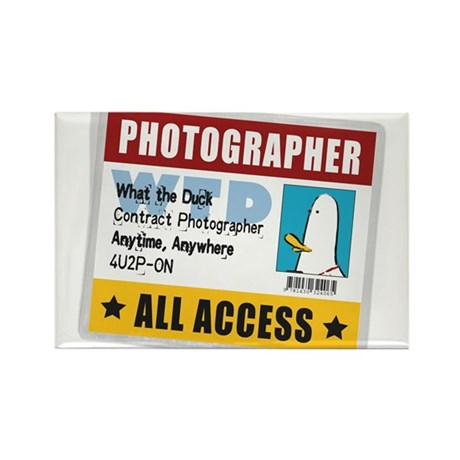 WTD: Credentials Rectangle Magnet (100 pack)