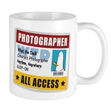 WTD: Credentials Small Mugs