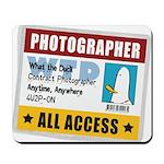 WTD: Credentials Mousepad