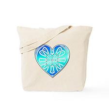 Royal Heart Tote Bag