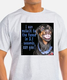 doberman smiling? T-Shirt
