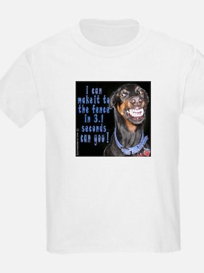 doberman smiling? T-Shirt