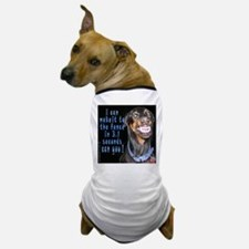 doberman smiling? Dog T-Shirt