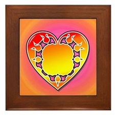 Throbbing Heart Framed Tile