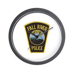 Fall River Police Wall Clock