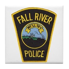 Fall River Police Tile Coaster
