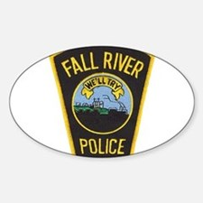 Fall River Police Oval Decal
