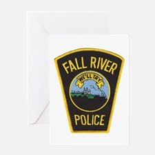 Fall River Police Greeting Card