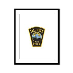 Fall River Police Framed Panel Print