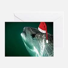 Ho Ho Ho Whale Shark Greeting Card