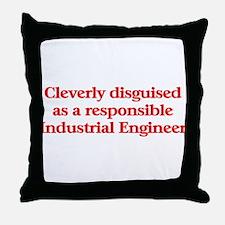 Industrial Engineer Throw Pillow