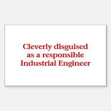 Industrial Engineer Rectangle Sticker 10 pk)