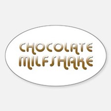 Chocolate MILF Oval Decal