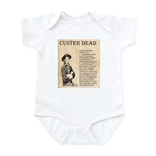 General Custer Infant Bodysuit